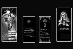 Дополнительные изображения на памятниках